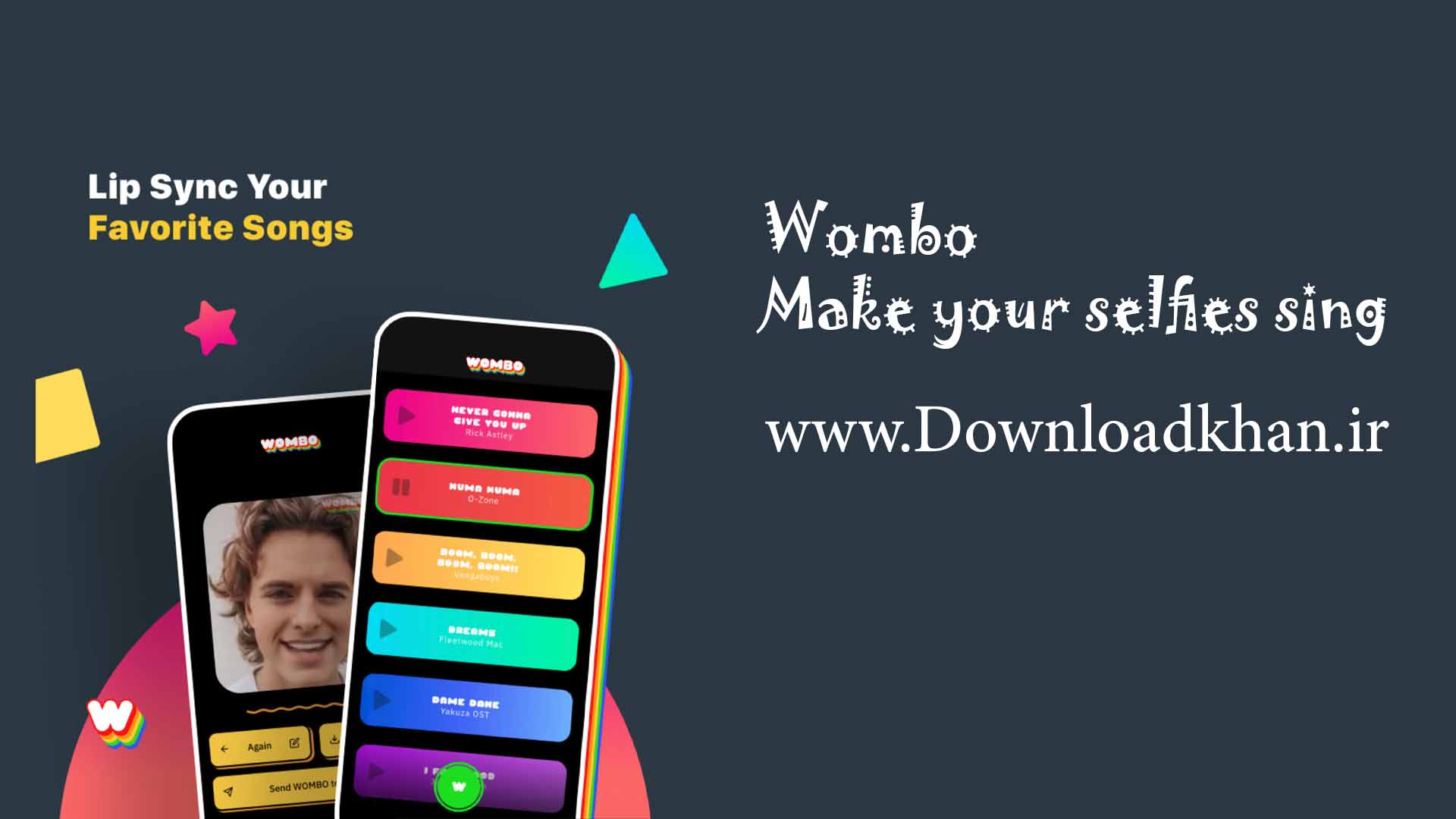 Wombo-Make-your-selfies-sing