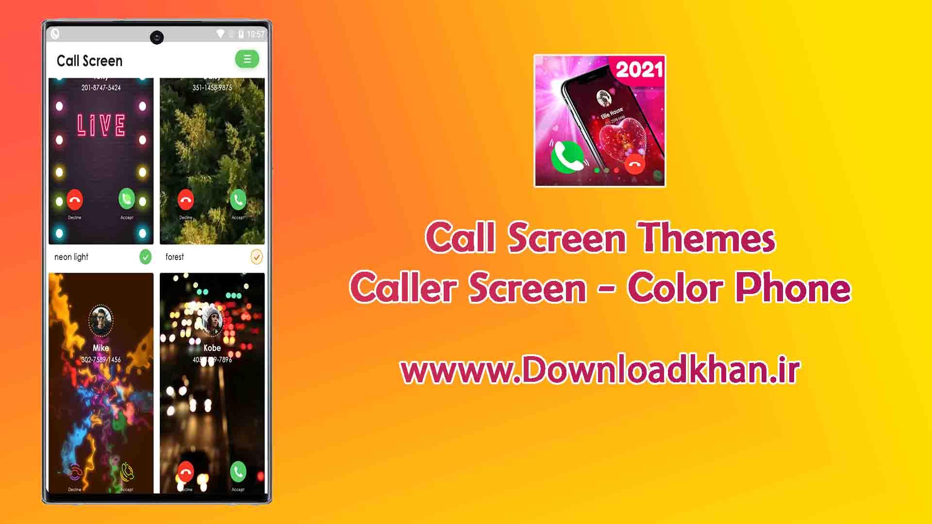 Call Screen Themes